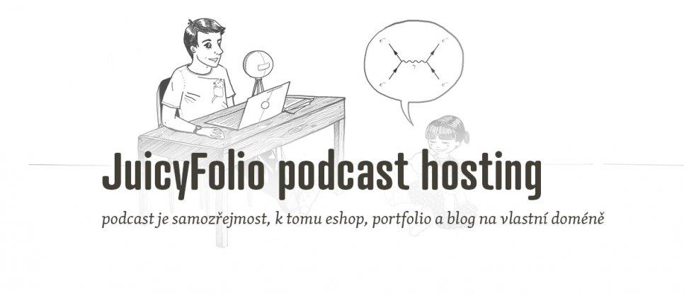 JuicyFolio podcast hosting