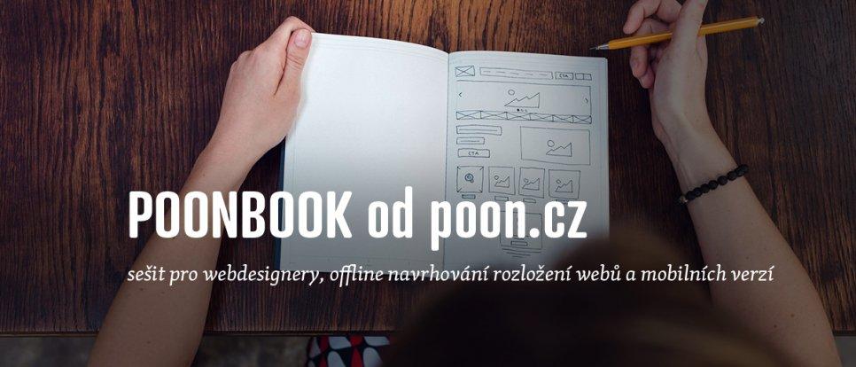 POONBOOK Sešit pro webdesignery