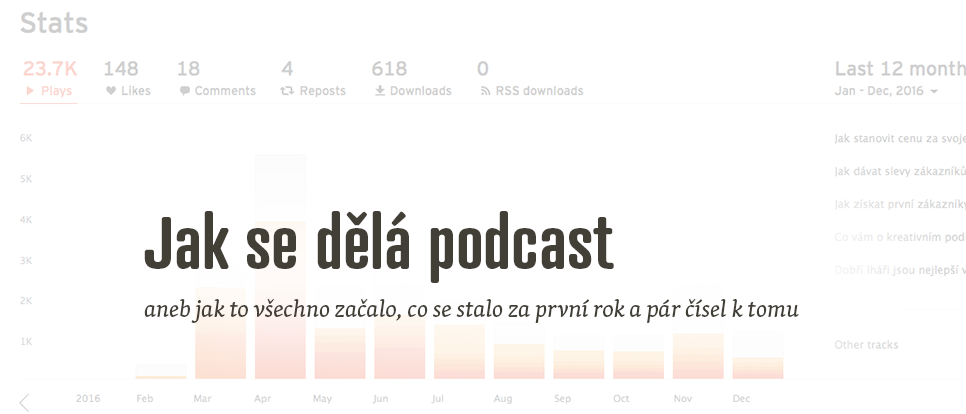 Jak se dělá podcast aneb jak to všechno začalo
