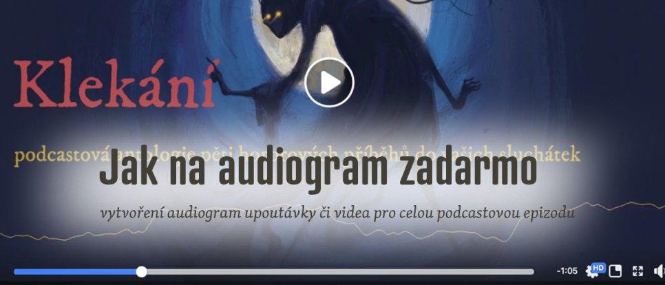 Jak zdarma vytvořit audiogram podcastu